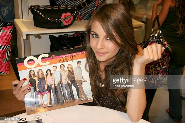 Willa Holland during LeSportsac Celebrates the New LeSportsac for The OC Collection with Willa Holland September 30 2006 at LeSportSac at the Beverly...