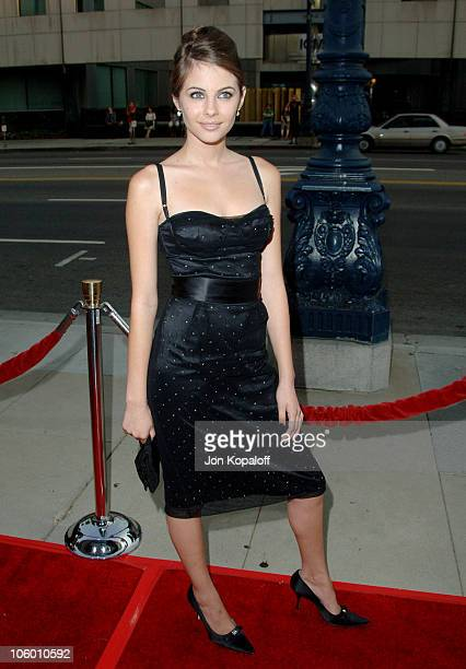 Willa Holland during The Black Dahlia Los Angeles Premiere Arrivals at Academy of Motion Picture Arts and Sciences in Beverly Hills California United...