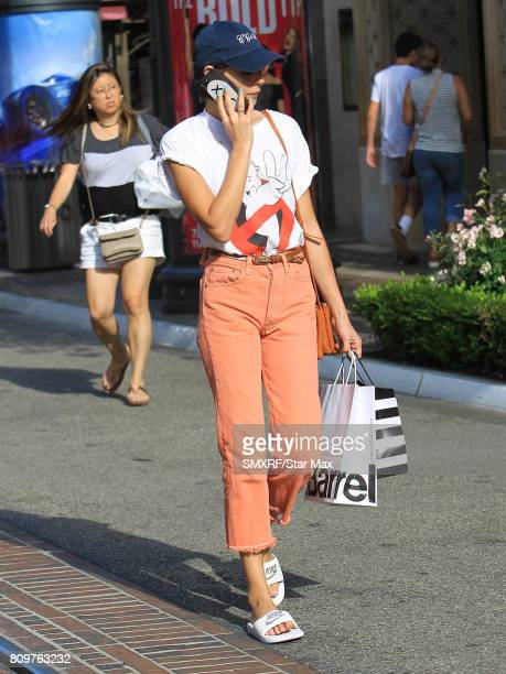 Willa Holland is seen on July 5 2017 in Los Angeles California