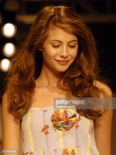 Willa Holland wearing Scanty Spring 2007 during New York Fashion Week Spring 2007 StyleLounge Scanty Sponsored by Mercury Milan Runway and Backstage...