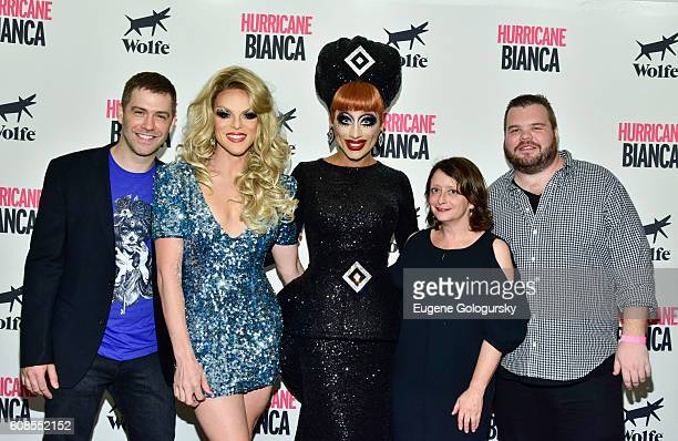 Willam Belli Matt Kugelman Bianca Del Rio Rachel Dratch and Ash Christian attend the US Premiere Of HURRICANE BIANCA Starring Bianca Del Rio at DGA...