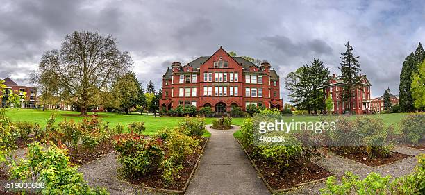 willamette university salem oregon usa - salem oregon stock pictures, royalty-free photos & images