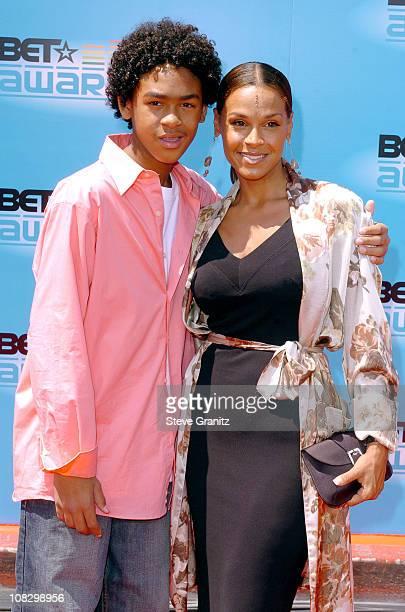 "Willard Smith III ""Trey"" and mother Sheree Smith"
