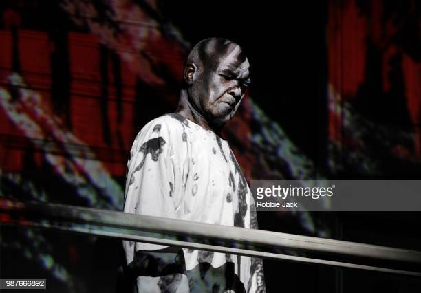 Willard W White as The Commendatore in the Royal Opera's production of Wolfgang Amadeus Mozart's Don Giovanni directed by Kasper Holten and conducted...