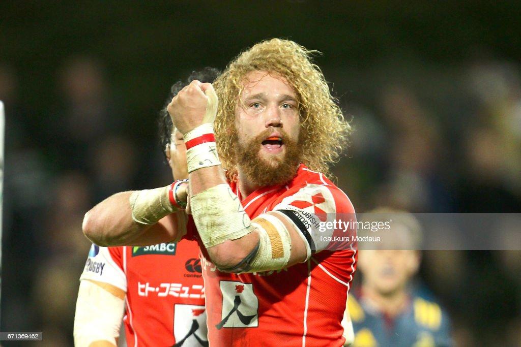 Super Rugby Rd 9 - Highlanders v Sunwolves : ニュース写真