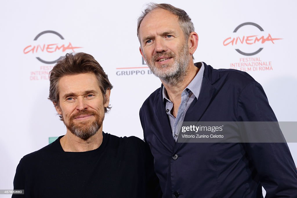 Willem Dafoe and Anton Corbjin attend the 'A Most Wanted Man' Photocall during the 9th Rome Film Festival on October 25, 2014 in Rome, Italy.