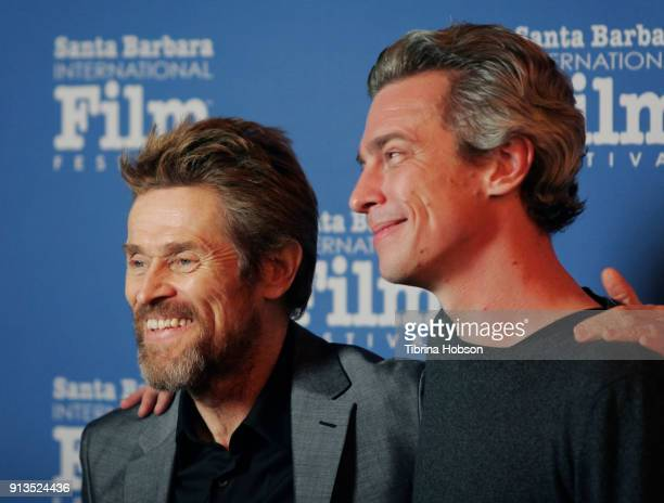 Willem Dafoe and Director Josh Boone attend the 33rd Annual Santa Barbara International Film Festival Cinema Vanguard Award presentation honoring...
