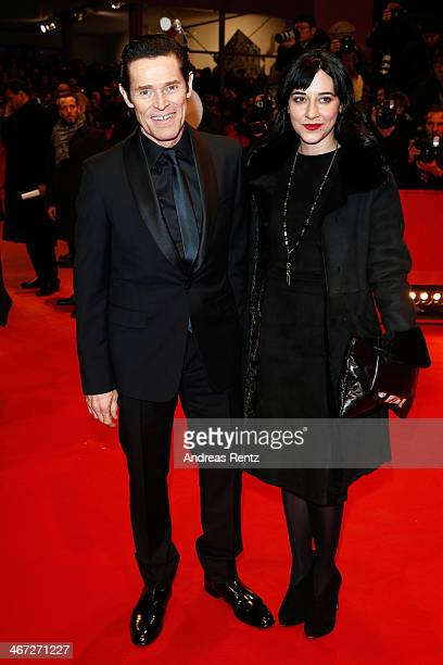 Willem Dafoe and Giada Colagrande attend 'The Grand Budapest Hotel' Premiere and opening ceremony during the 64th Berlinale International Film...