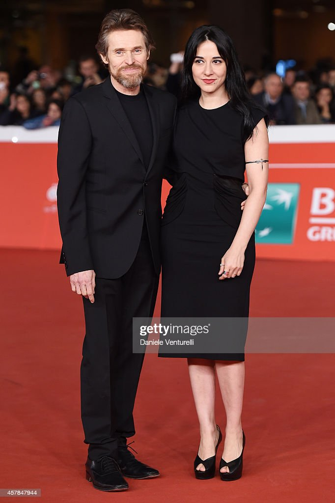 Willem Dafoe and his wife Giada Colagrande attend the 'A Most Wanted Man' red carpet during the 9th Rome Film Festival at Auditorium Parco Della Musica on October 25, 2014 in Rome, Italy.