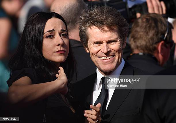 """Willem Dafoe and his wife, Giada Colagrande attend the """"Graduation """" Premiere during the 69th annual Cannes Film Festival at the Palais des Festivals..."""