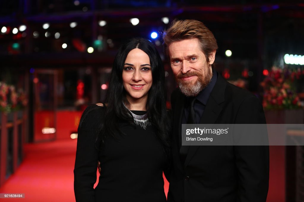 Willem Dafoe (R) and his wife Giada Colagrande attend the Homage Willem Dafoe - Honorary Golden Bear award ceremony and 'The Hunter' screening during the 68th Berlinale International Film Festival Berlin at Berlinale Palast on February 20, 2018 in Berlin, Germany.