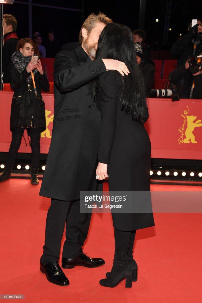 Hommage Willem Dafoe - Honorary Golden Bear Award Ceremony - 68th Berlinale International Film Festival : Foto di attualità