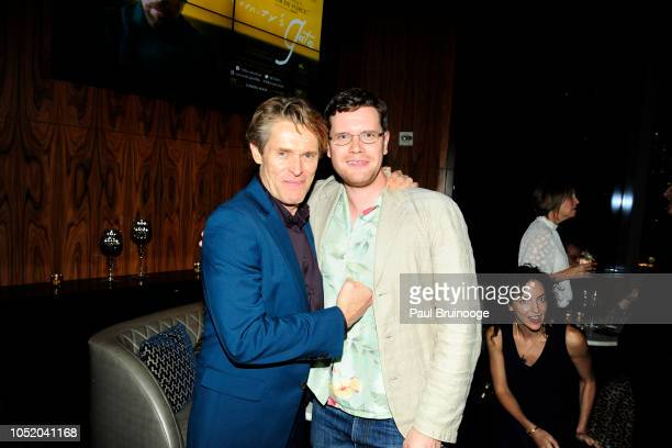 Willem Dafoe and Jack Dafoe attend NYFF56 Closing Night Gala Presentation North American Premiere Of At Eternity's Gate After Party at Ascent NYC on...