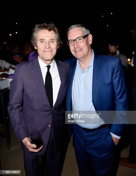 Willem Dafoe and Jack Speer attend SAGAFTRA Foundation's 4th Annual Patron of the Artists Awards at Wallis Annenberg Center for the Performing Arts...