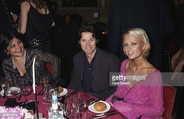 Willem Dafoe and Paris Hilton attend the MAC Cosmetics Charity Party to support Aids in London in honour of Mary J Blige at The Criterion Restaurant...