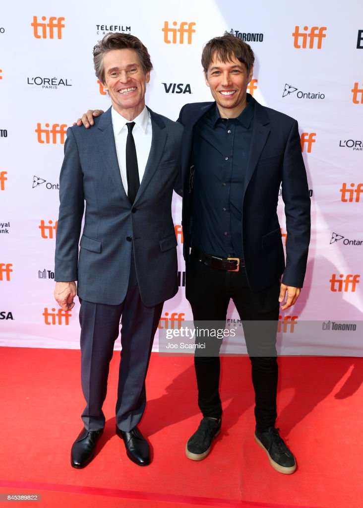 Willem Dafoe (L) and Sean Baker attend 'The Florida Project' premiere during the 2017 Toronto International Film Festival at Ryerson Theatre on September 10, 2017 in Toronto, Canada.