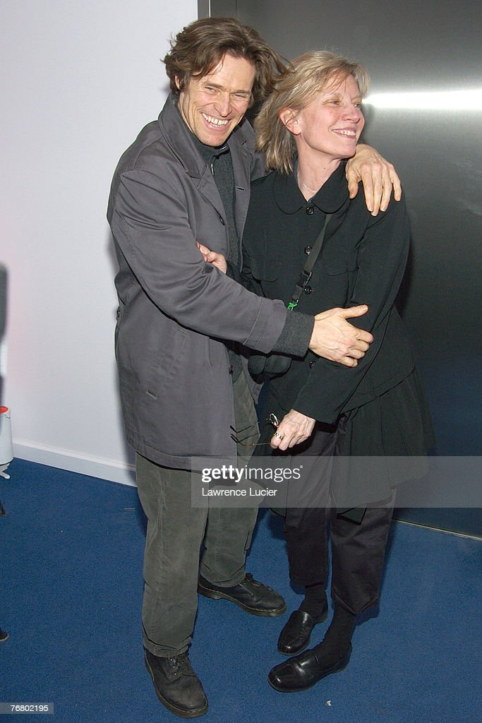Willem Dafoe and wife Elizabeth LeCompte