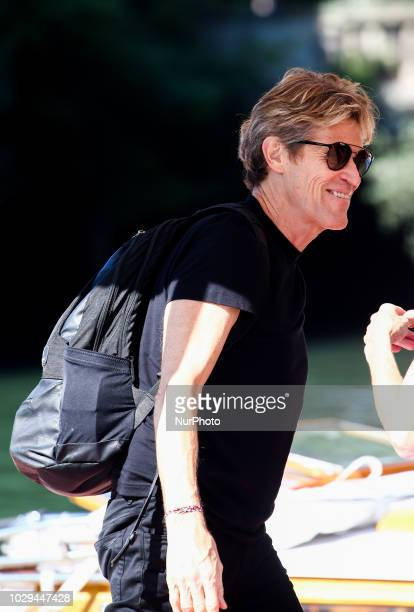 Willem Dafoe arrive at the Hotel Excelsior at the 75th Venice Film Festival in Venice Italy on September 8 2018