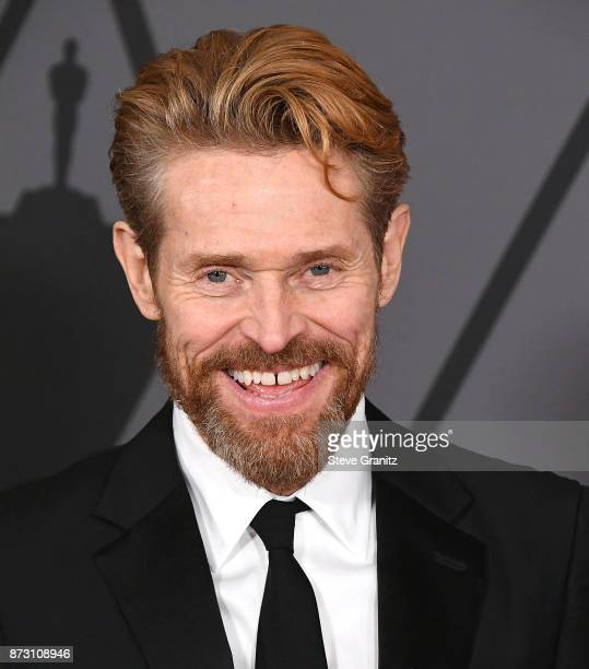 Willem Dafoe arrives at the Academy Of Motion Picture Arts And Sciences' 9th Annual Governors Awards at The Ray Dolby Ballroom at Hollywood Highland...