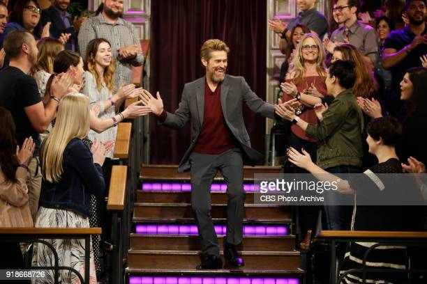 Willem Dafoe arrives to 'The Late Late Show with James Corden' Tuesday February 6 2018 On The CBS Television Network