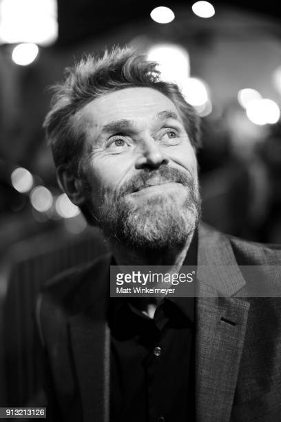Willem Dafoe at the Cinema Vanguard Award Honoring Willem Dafoe during The 33rd Santa Barbara International Film Festival at Arlington Theatre on...