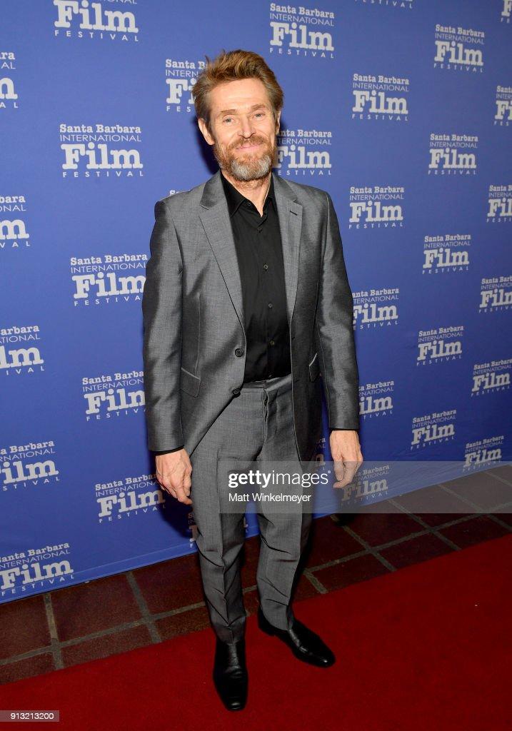 The 33rd Santa Barbara International Film Festival - Cinema Vanguard Award Honoring Willem Dafoe