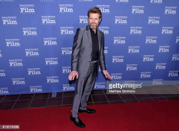 Willem Dafoe at the Cinema Vanguard Award Honoring Willem Dafoe during The 33rd Santa Barbara International Film Festival at Arlington Theatre on...