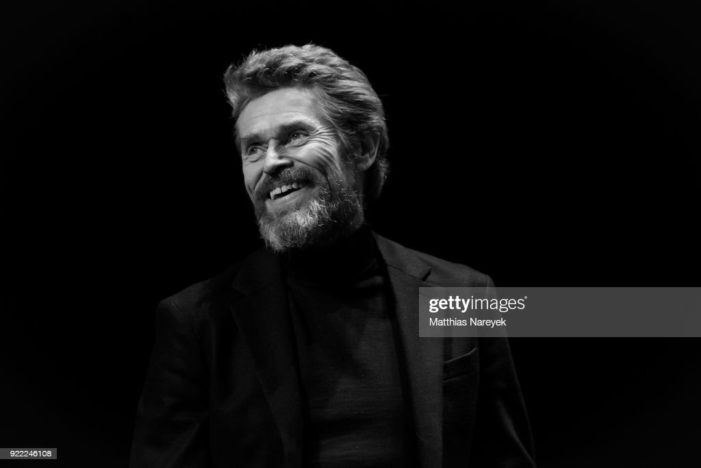 Willem Dafoe at the homage event 'A Journey Through Time with Willem Dafoe' during during the 68th Berlinale International Film Festival Berlin at on February 21, 2018 in Berlin, Germany.