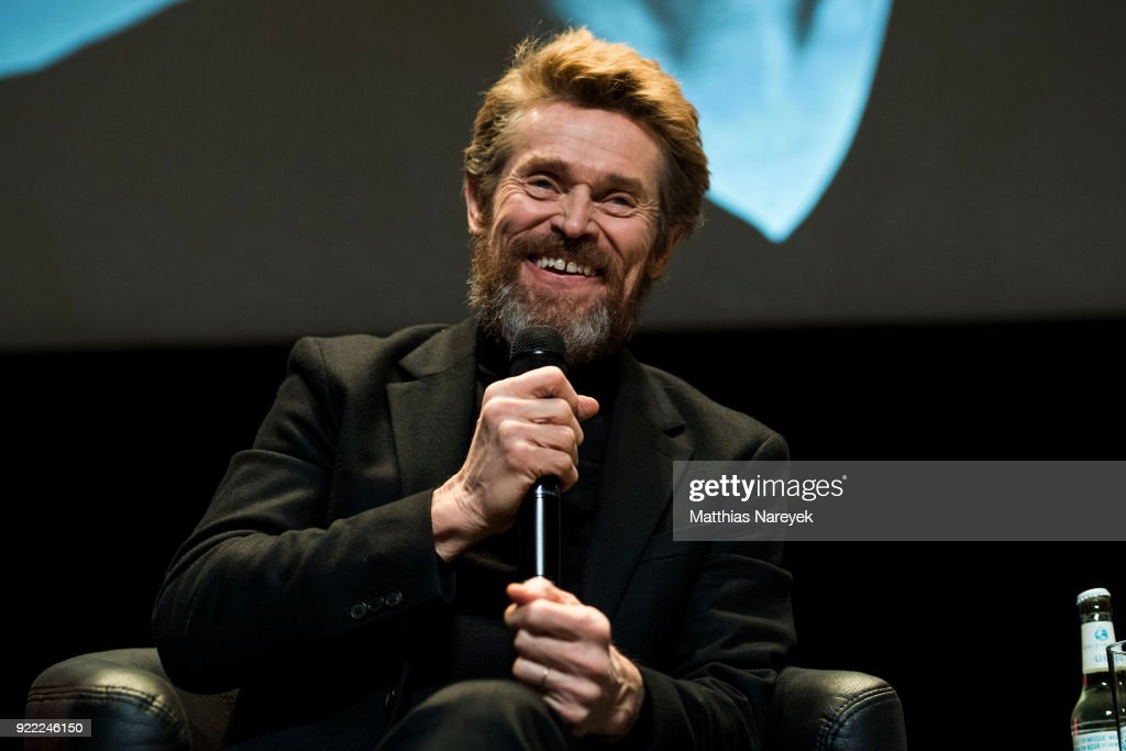 Willem Dafoe at the homage event 'A Journey Through Time with Willem Dafoe' during the 68th Berlinale International Film Festival Berlin at Hebbel am Ufer on February 21, 2018 in Berlin, Germany.