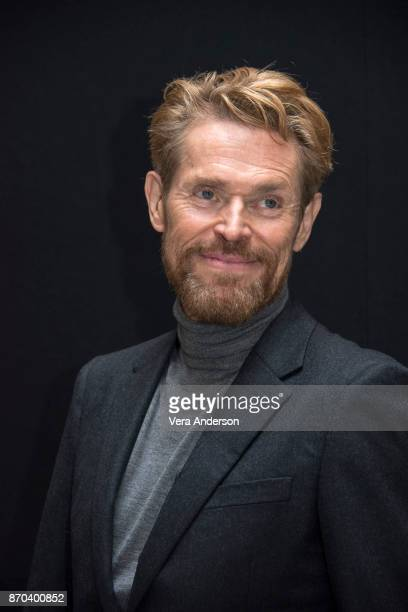 Willem Dafoe at the 'Murder on the Orient Express' Press Conference at the Claridges Hotel on November 3 2017 in London England