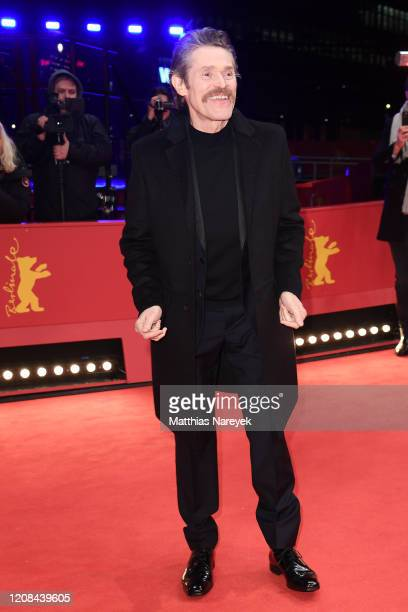 Willem Dafoe at the Siberia premiere during the 70th Berlinale International Film Festival Berlin at Berlinale Palace on February 24 2020 in Berlin...