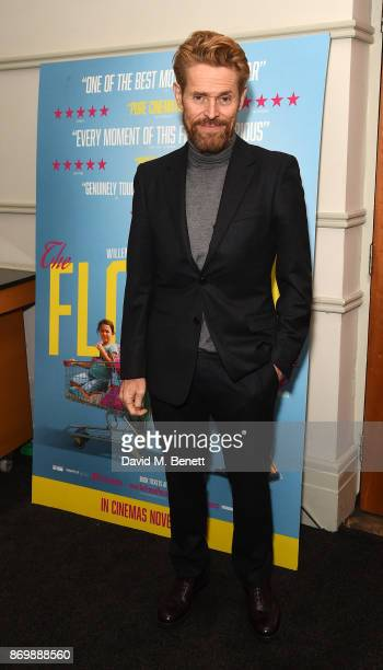 Willem Dafoe attends a special screening of The Florida Project at 20th Century Fox Soho Square on November 3 2017 in London England