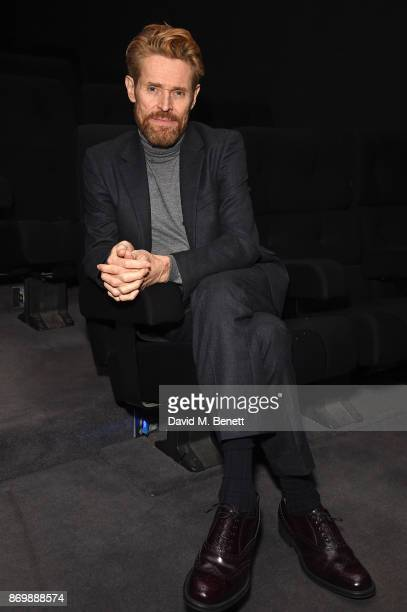 Willem Dafoe attends a special screening of 'The Florida Project' at 20th Century Fox Soho Square on November 3 2017 in London England