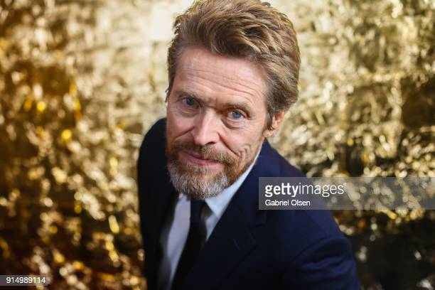 Willem Dafoe attends AARP's 17th Annual Movies For Grownups Gala at the Beverly Wilshire Four Seasons Hotel on February 5 2018 in Beverly Hills...