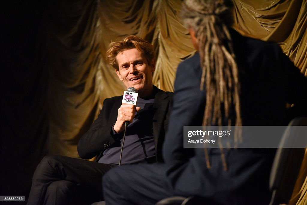 Film Independent At LACMA Presents An Evening With Willem Dafoe