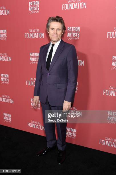 Willem Dafoe attends SAGAFTRA Foundation's 4th Annual Patron of the Artists Awards at Wallis Annenberg Center for the Performing Arts on November 07...