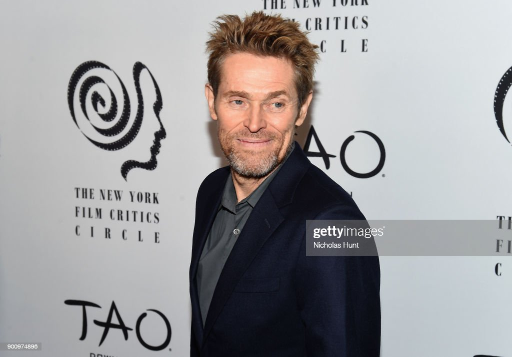 Willem Dafoe attends the 2017 New York Film Critics Awards at TAO Downtown on January 3, 2018 in New York City.