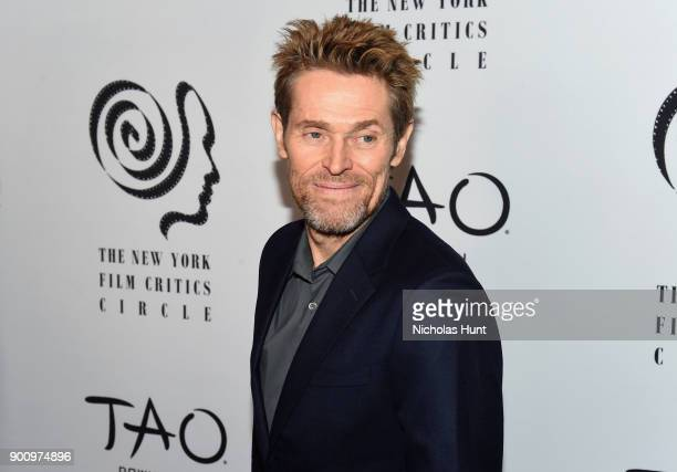 Willem Dafoe attends the 2017 New York Film Critics Awards at TAO Downtown on January 3 2018 in New York City