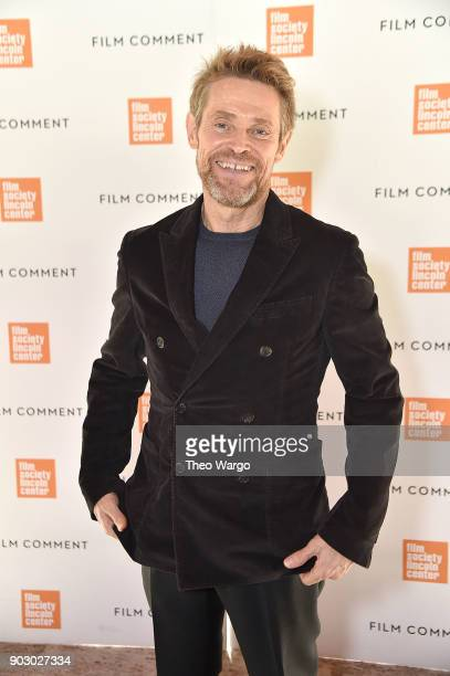 Willem Dafoe attends the 2018 Film Society Of Lincoln Center Film Comment Luncheon at Lincoln Ristorante on January 9 2018 in New York City
