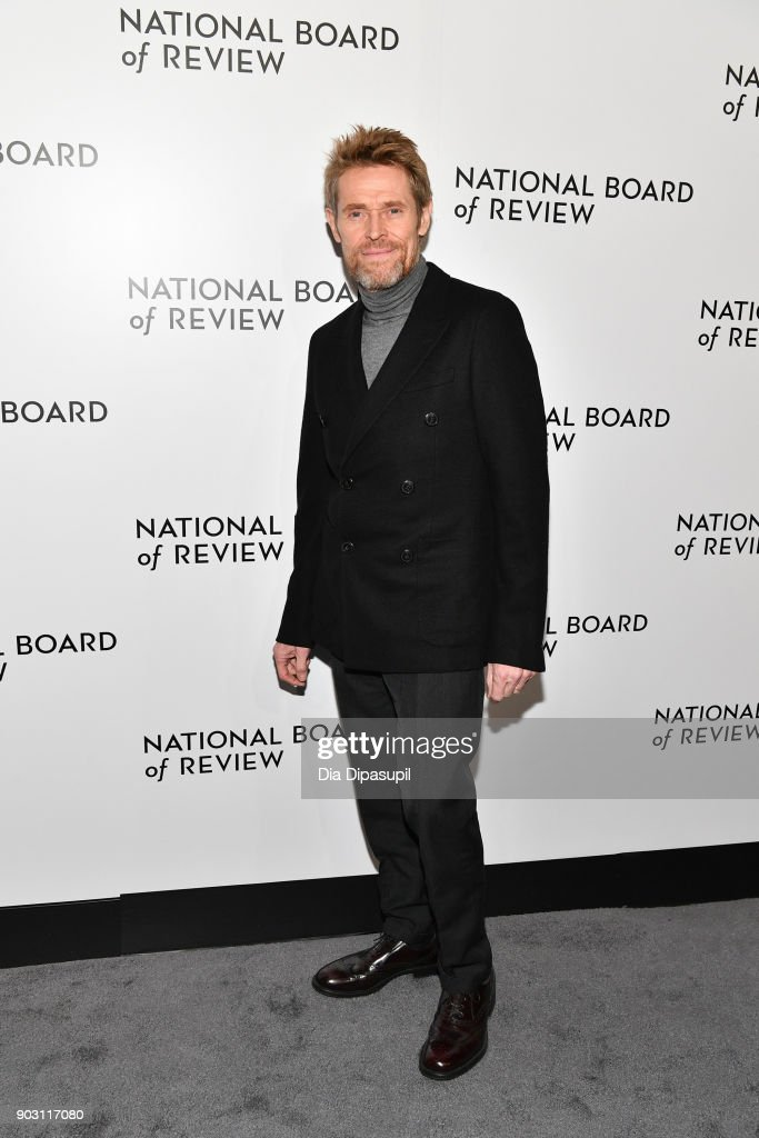 Willem Dafoe attends the 2018 National Board of Review Awards Gala at Cipriani 42nd Street on January 9, 2018 in New York City.