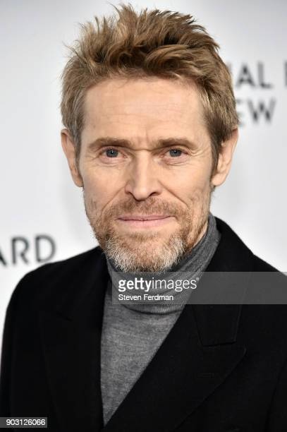 Willem Dafoe attends the 2018 The National Board Of Review Annual Awards Gala at Cipriani 42nd Street on January 9 2018 in New York City