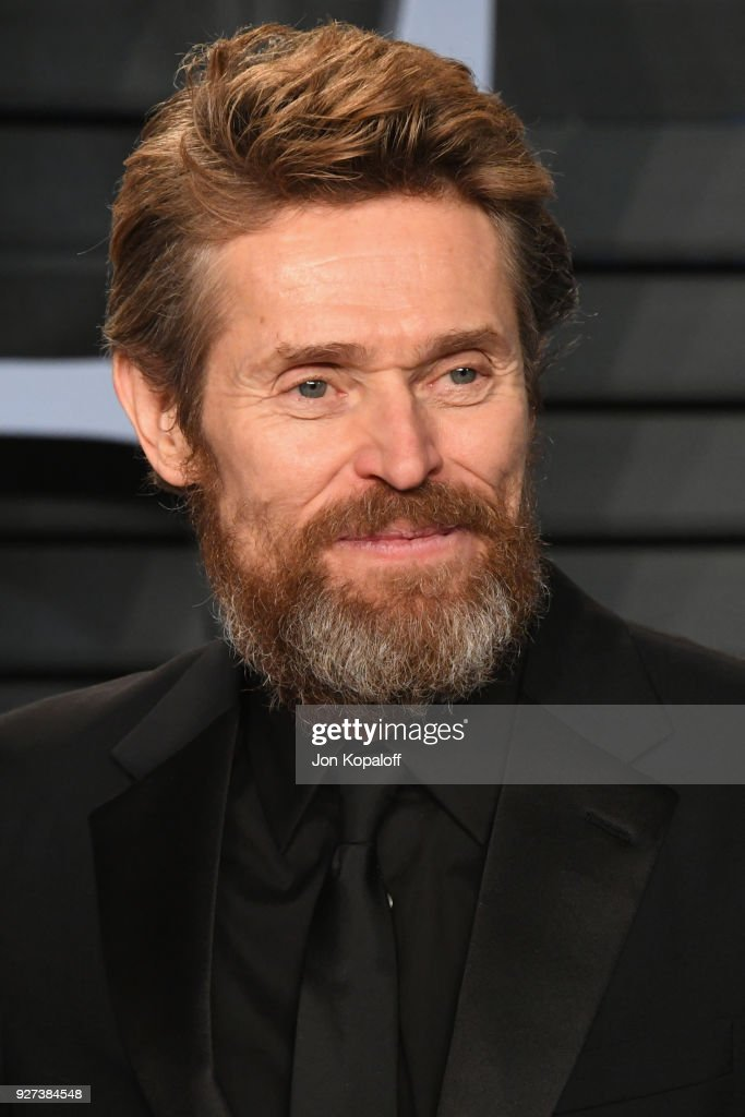 Willem Dafoe attends the 2018 Vanity Fair Oscar Party hosted by Radhika Jones at Wallis Annenberg Center for the Performing Arts on March 4, 2018 in Beverly Hills, California.