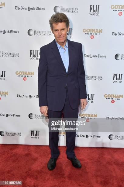 Willem Dafoe attends the 2019 IFP Gotham Awards at Cipriani Wall Street on December 02 2019 in New York City
