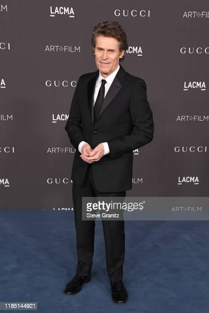 Willem Dafoe attends the 2019 LACMA Art Film Gala Presented By Gucci at LACMA on November 02 2019 in Los Angeles California