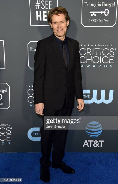 Willem Dafoe attends the 24th Annual Critics' Choice Awards at Barker Hangar on January 13 2019 in Santa Monica California