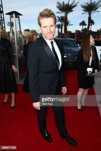 Willem Dafoe attends the 29th Annual Palm Springs International Film Festival Awards Gala at Palm Springs Convention Center on January 2 2018 in Palm...