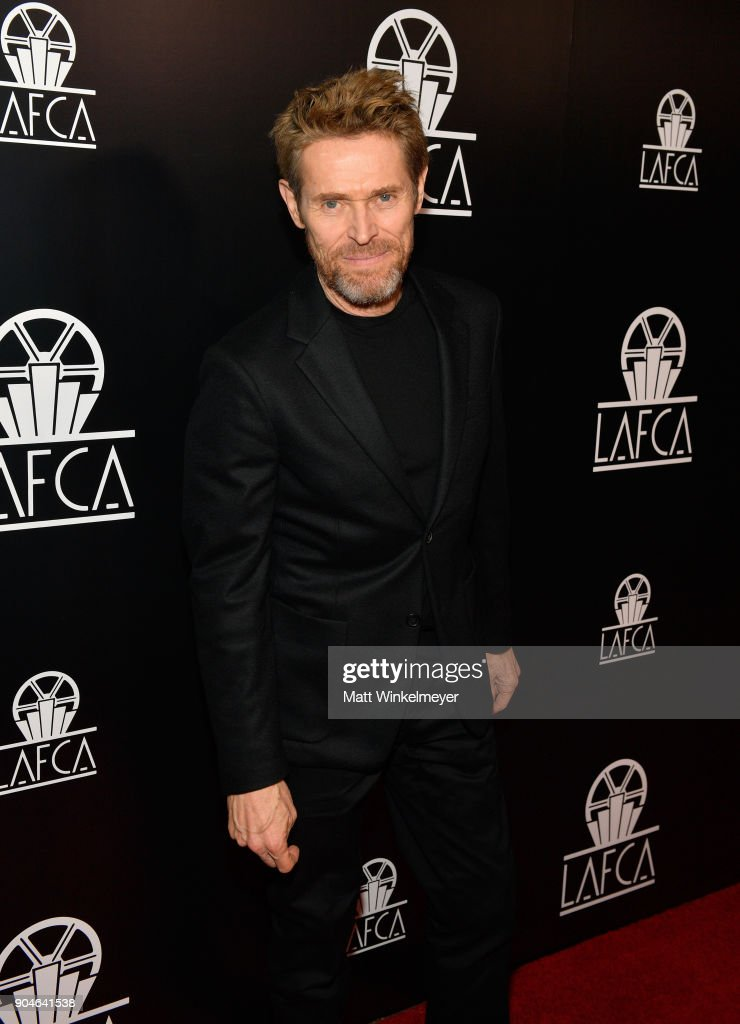 Willem Dafoe attends the 43rd Annual Los Angeles Film Critics Association Awards on January 13, 2018 in Los Angeles, California.