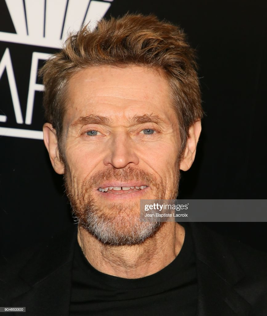 Willem Dafoe attends the 43rd Annual Los Angeles Film Critics Association Awards on January 13, 2018 in Hollywood, California.