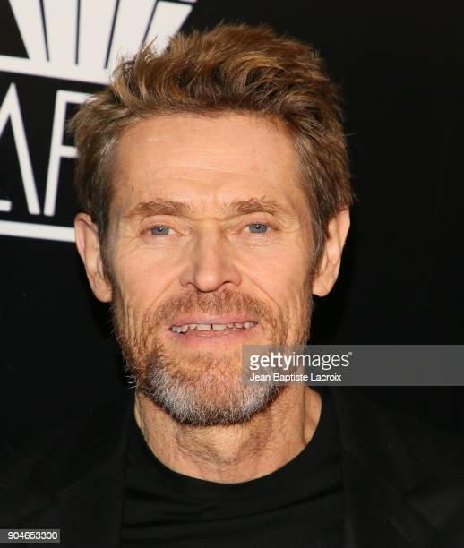 Willem Dafoe attends the 43rd Annual Los Angeles Film Critics Association Awards on January 13 2018 in Hollywood California