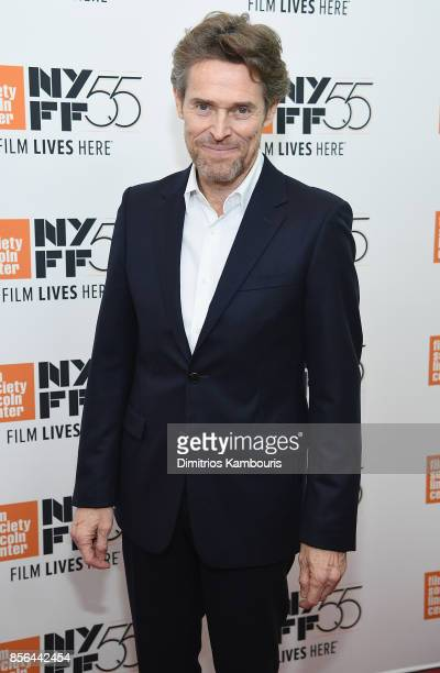 Willem Dafoe attends The 55th New York Film Festival 'The Florida Project' at Alice Tully Hall on October 1 2017 in New York City